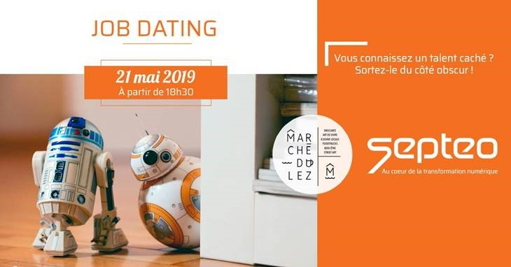 Job Dating Septeo - 21 mai 2019
